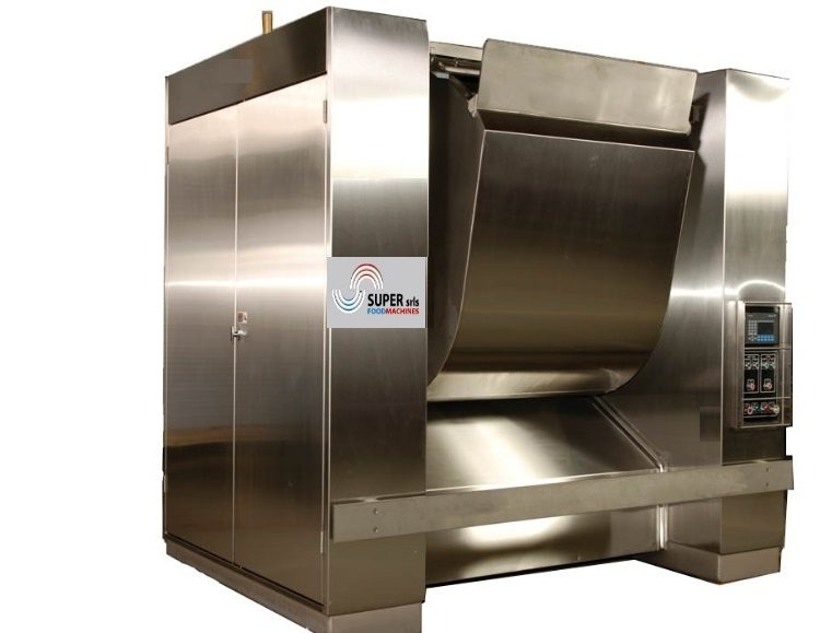 DOUGH MIXER HORIZONTAL BY 300 TO 1600 LITERS