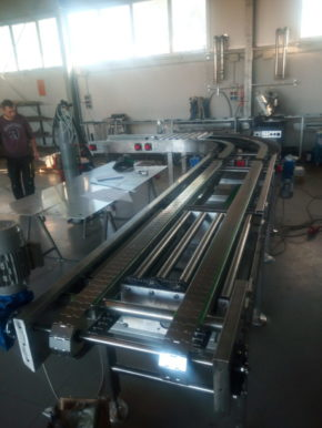 TABLE TOP - TRAYS CONVEYOR PAN, www.super-foodmachines.com