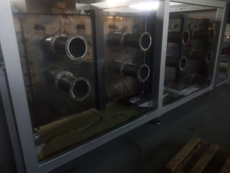 TUNNEL OVEN - GAS BURNERS, PARTICULAR, www.super-foodmachines.com