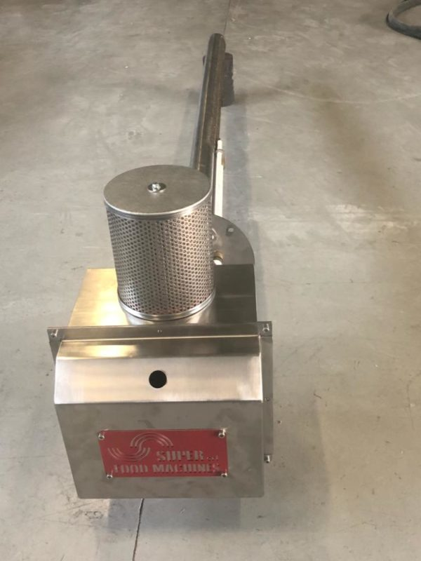 DIRECT FLAME BURNER MADE BY SUPER srl - BRUCIATORE A FIAMMA DIRETTA -MODULANTE- www.super-foodmachines.com